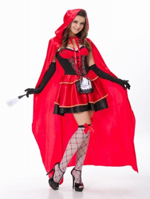 Little Red Riding Hood Adult Costume M4038