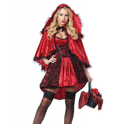 Luxury Little Red Riding Hood Costume M40296